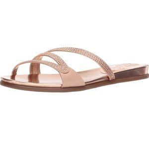 Vince Camuto Rose Pink Slides - 7.5